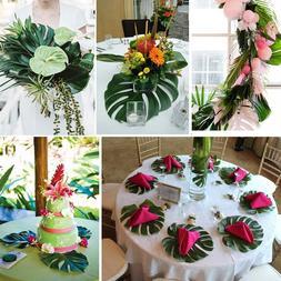 Hawaiian Luau Party Palm Leaves <font><b>Cupcake</b></font>