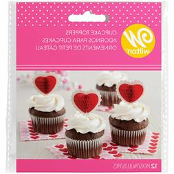 Wilton Heart Cupcake Toppers Picks