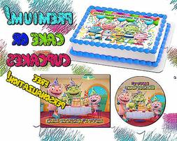 Henry Hugglemonster edible Cake toppers picture sugar Birthd