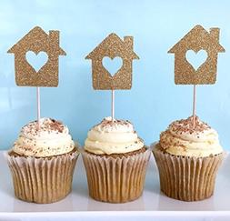 Housewarming Party Cupcake Toppers 12CT