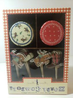 howdy cowboy cupcake kit