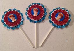 I Love Lucy Cupcake Toppers Birthday Anniversary Party Suppl