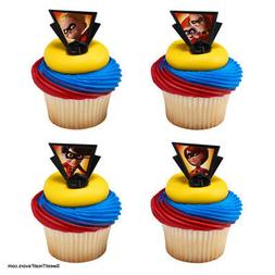 INCREDIBLES 2 Movie Party CUPCAKE Birthday Favors Topper Dec