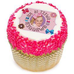 """JoJo Siwa 2"""" Edible Cupcake Topper"""