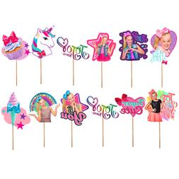 JOJO SIWA CAKE TOPPER TOPPERS CUPCAKE BALLOON SUPPLIES DECOR