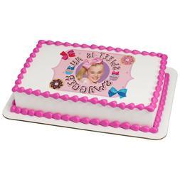JoJo Siwa Sweet Swagger Edible Cake OR Cupcake Toppers Decor