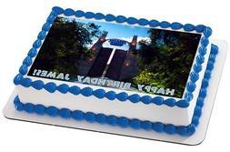 Jurassic World  - Edible Cake Topper OR Cupcake Topper, Deco