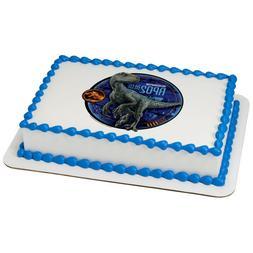 Jurassic World Fallen Kingdom Blue Edible Cake OR Cupcake To