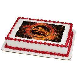 Jurassic World Fallen Kingdom Lava Edible Cake OR Cupcake To