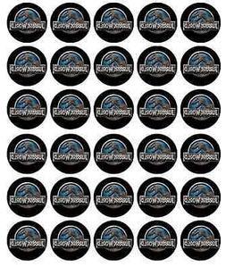 Jurassic World Park Cupcake Toppers Edible Wafer Paper BUY 2