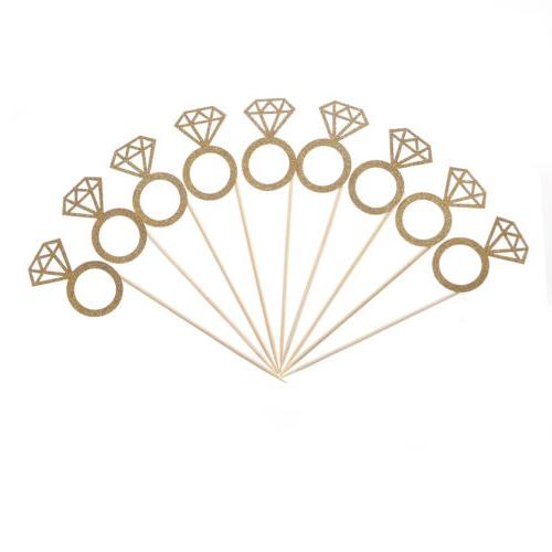 10pcs Toppers Engagement Wedding Table