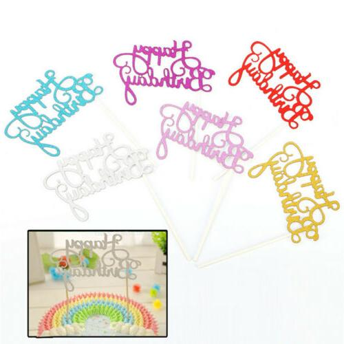 """10Pcs """"Happy Cake Inserted Cards Baby Shower Party"""
