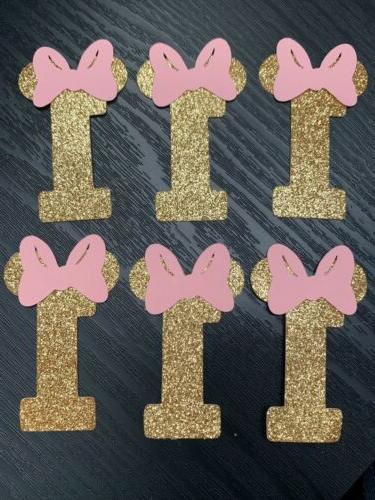 birthday Mouse toppers,cupcake
