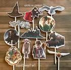 12- HARRY POTTER Cupcake Toppers / Cake Toppers / Birthday P