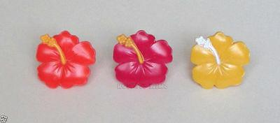 12 hibiscus flower tropical luau cup cake