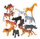 12 SAFARI WILD ANIMALS Zoo Jungle PARTY FAVORS CUPCAKE TOPPE