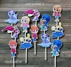 12- SHIMMER AND SHINE Cupcake Toppers / Cake Toppers / Birth