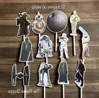 12- STAR WARS Cupcake Toppers / Cake Toppers / Birthday Part