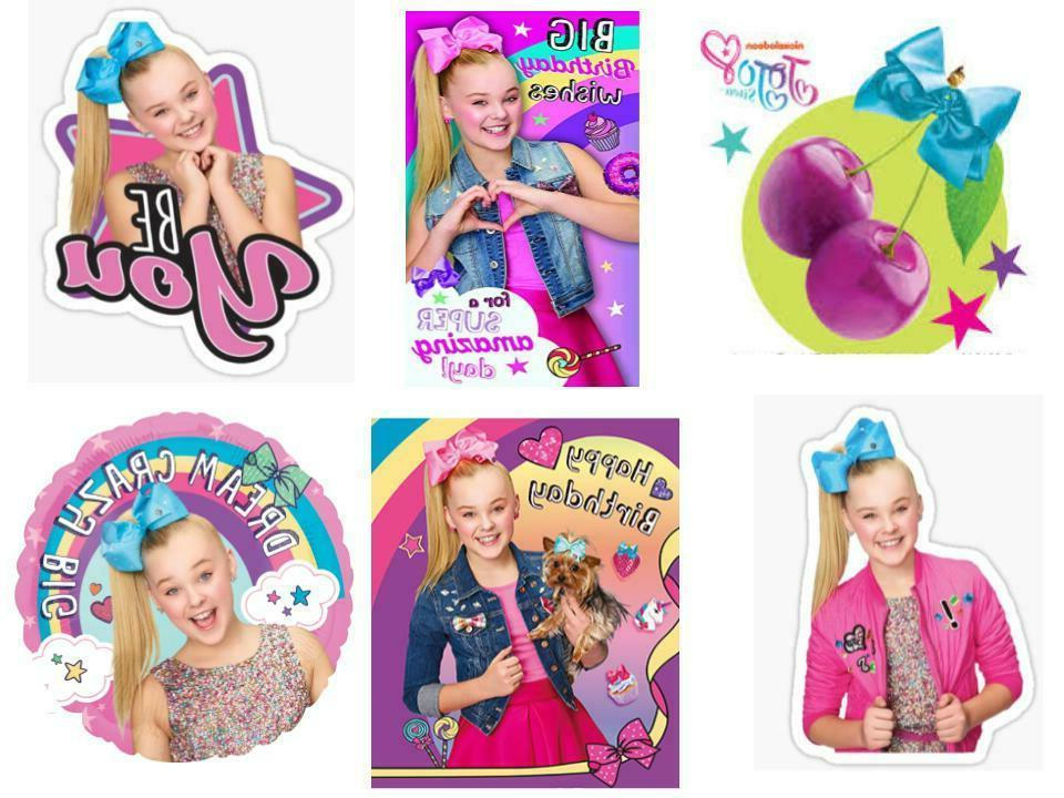 Large 12pc Siwa Birthday Birthday Party Cupcake Toppers