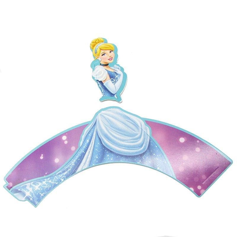 12sets Snow Princess <font><b>Toppers</b></font> <font><b>Kids</b></font> Birthday <font><b>Party</b></font> <font><b>Cupcake</b></font> <font><b>Party</b></font>