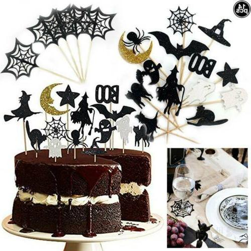 14 pcs set get fresh halloween cupcake