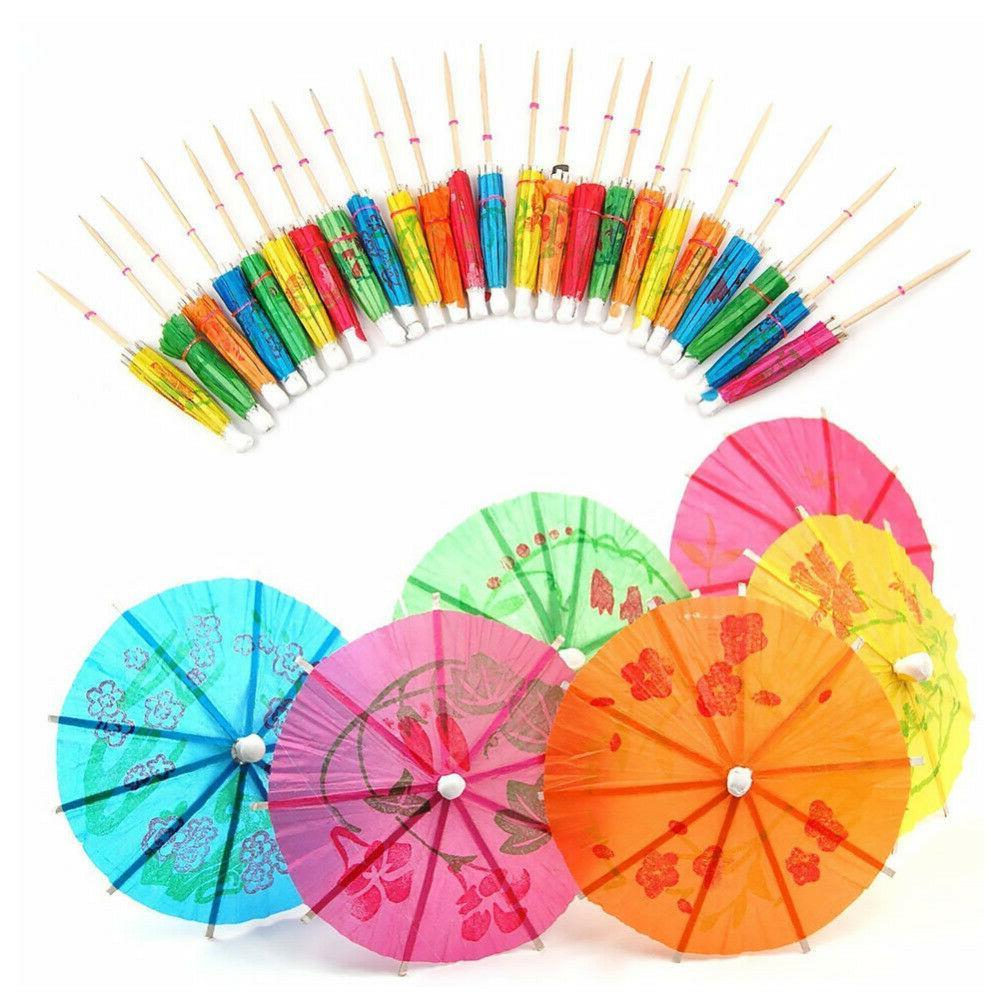 144Pcs Parasols Cupcake Umbrella