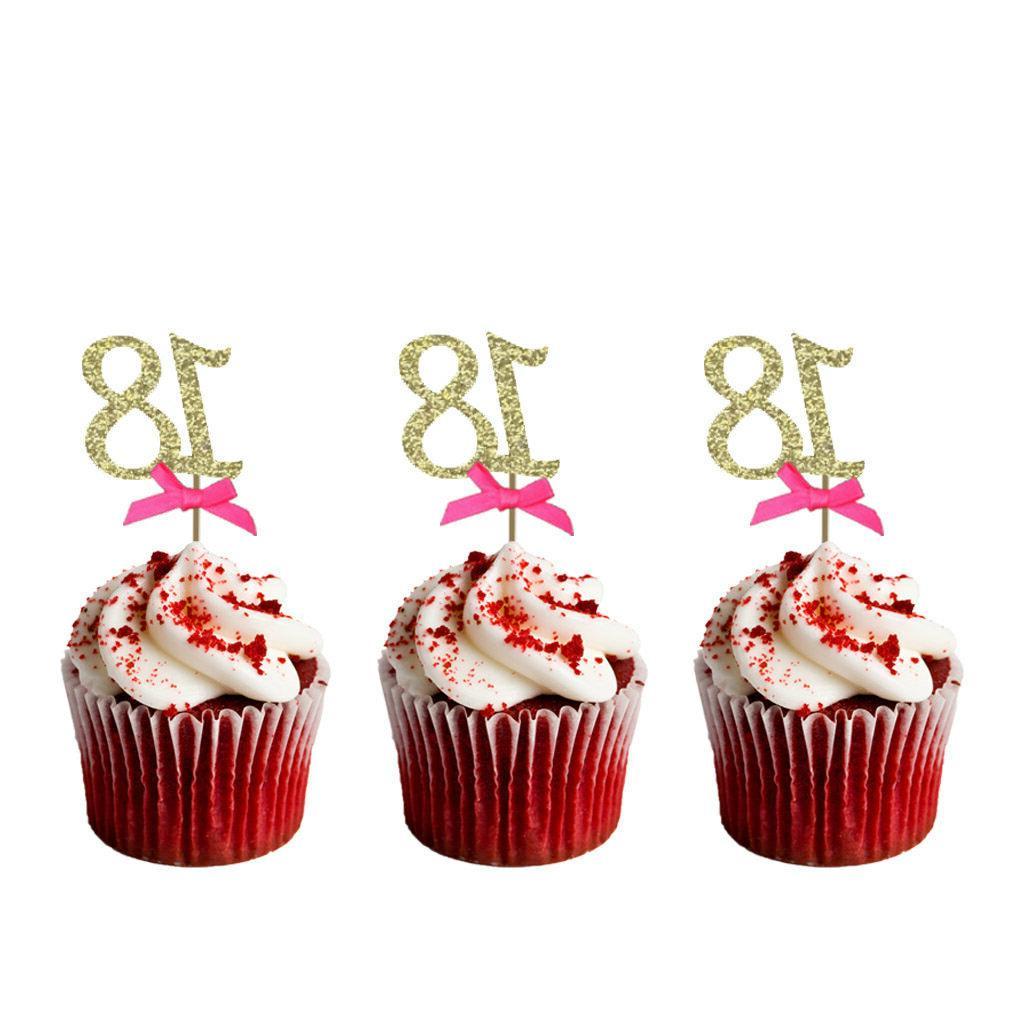 18th Birthday –Glittery Pink 10