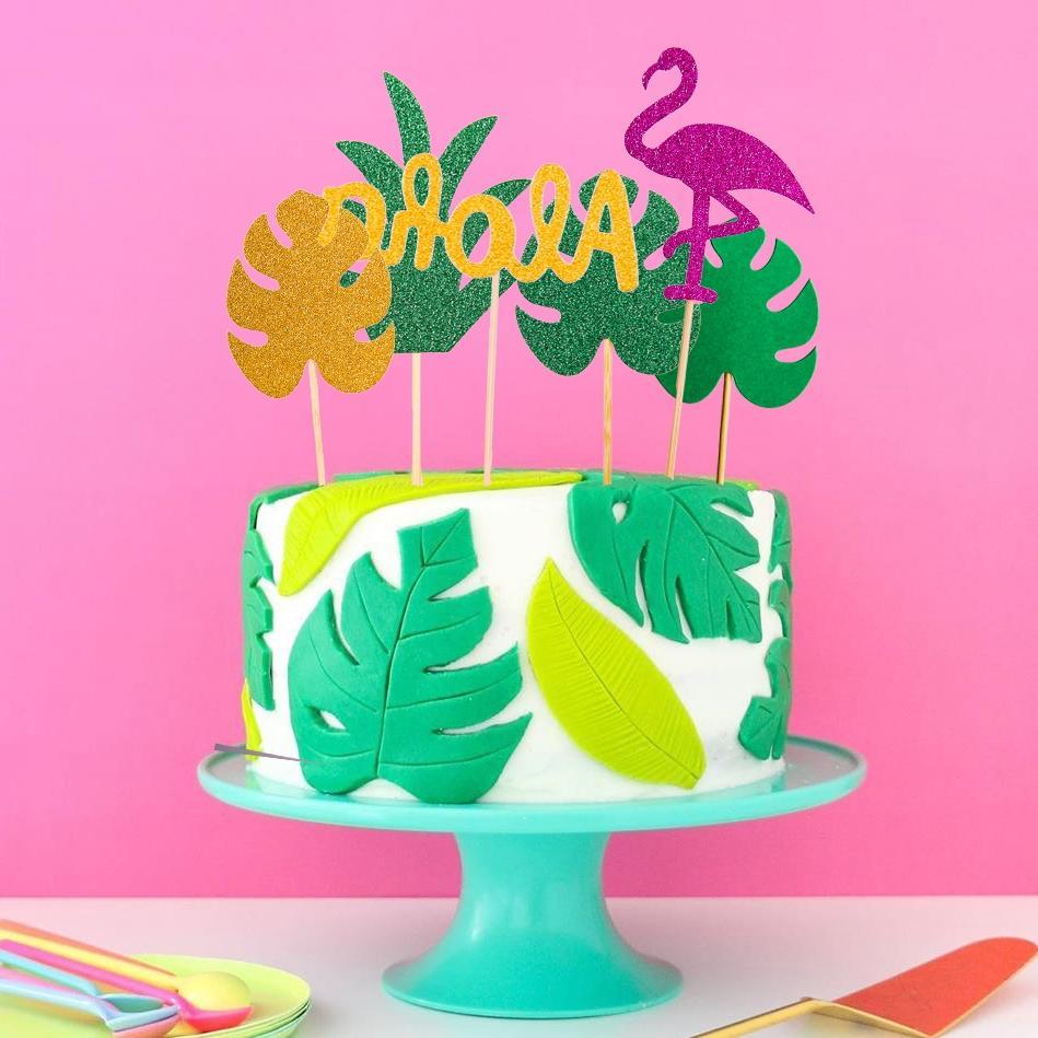 1set flamingo font b cupcake b font