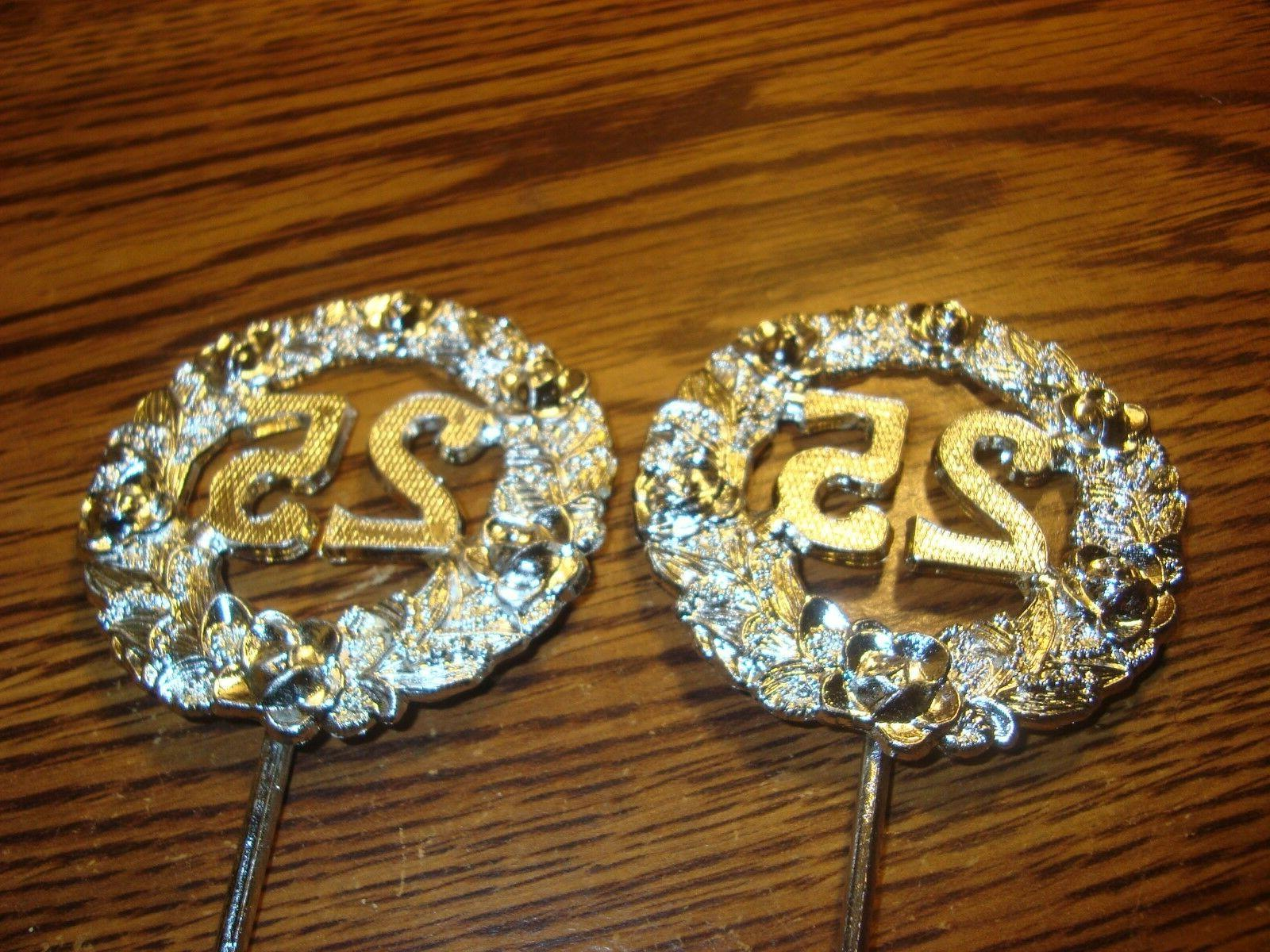 #2 Two * 25Th Anniversary - Birthday Cupcake Topper Pick Sil