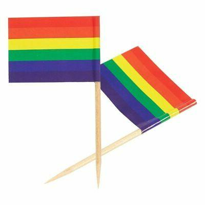 200PCS Cupcake Toppers Cocktail Pride