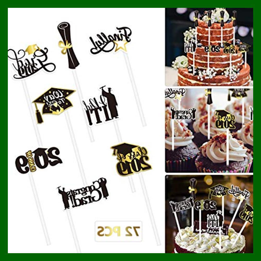 2019 Cupcake 72PCS Grad Party