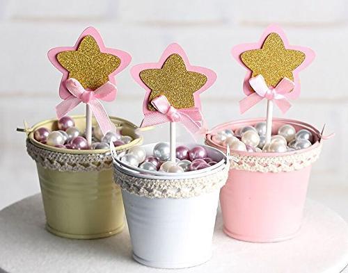21-pac Star Glitter Star Baby Girls Supplies