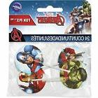 2113 4110 Marvel Avengers Fun Pix Cupcake Toppers Multicolor