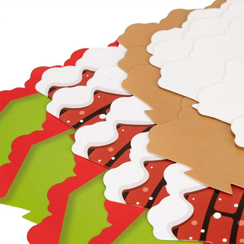 24/48PCS Christmas Cake Toppers Cupcake Cake Picks