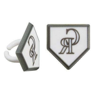 Rings MLB Decorations Party Favors