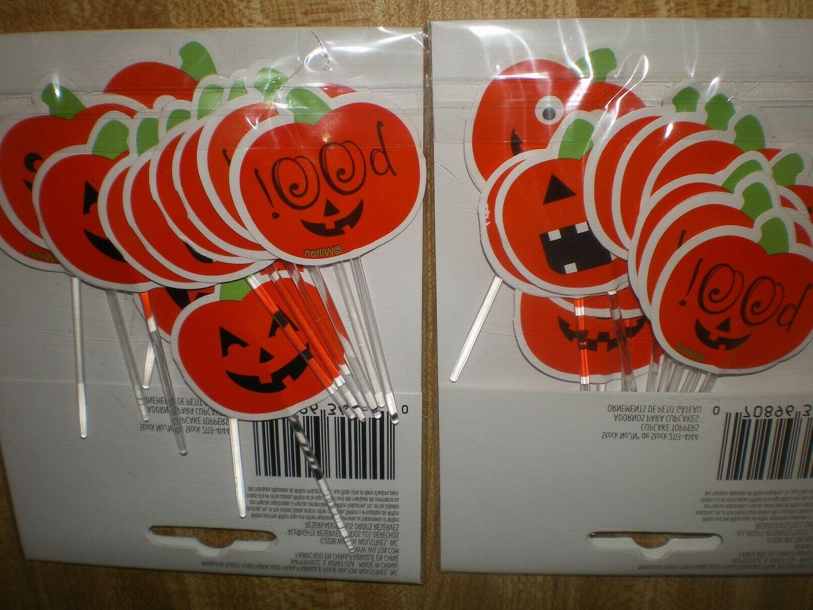 24 Halloween Cupcake by Wilton NEW Paper & Plastic