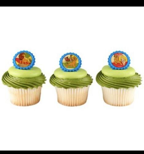 24 new lion king cupcake cake toppers