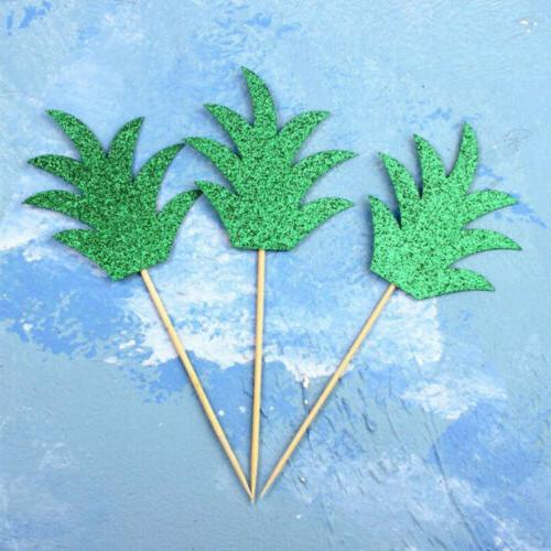 24 Pcs Pineapple Toppers Summer Halloween Party US