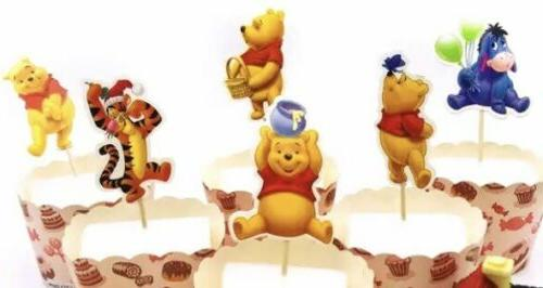 24 winnie the pooh cupcake toppers 2