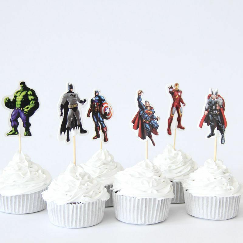 24pc Avengers & Superheros fun party
