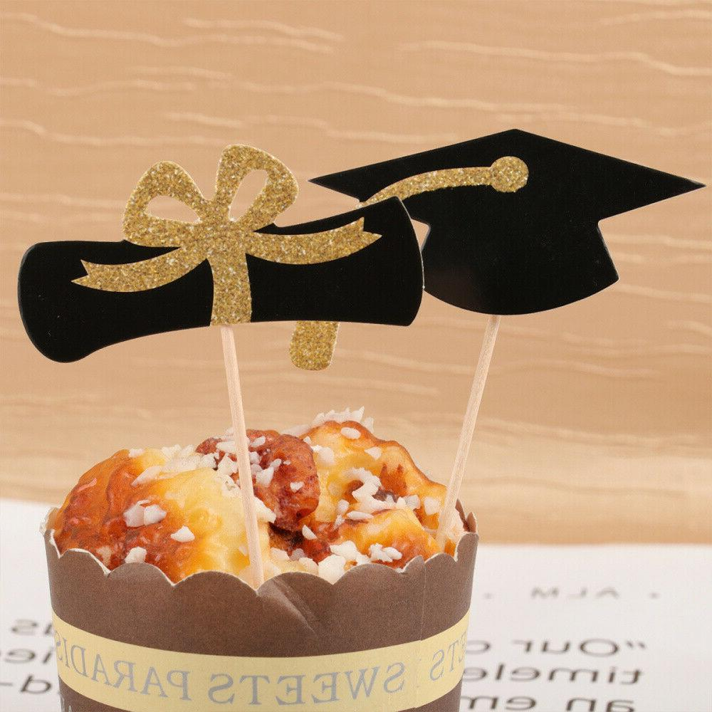 24Pcs 2020 Toppers Decoration for Grad Party