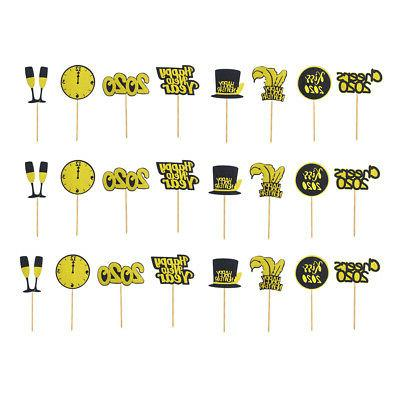 24Pack Cake Topper 2020 Cupcake Toppers Picks Food Pick Stic