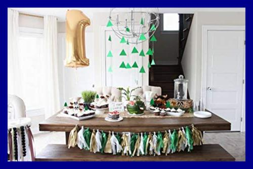 24Pcs Cupcake Woodland Lumberjack Birthday Shower Party