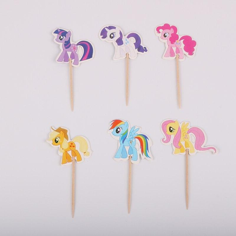 24pcs cute font b unicorn b font