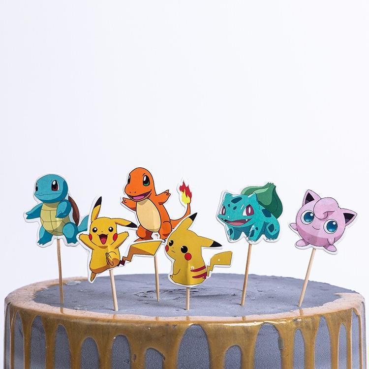 24Pcs/pack Party Cake <font><b>Topper</b></font> Sticks <font><b>Kids</b></font> Sofia Unicorn Shower <font><b>Cupcake</b></font> <font><b>Topper</b></font>