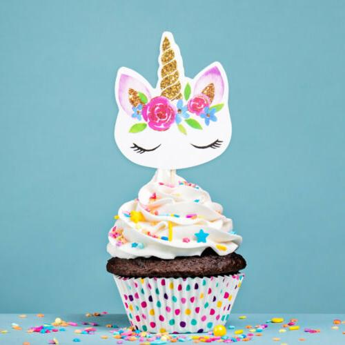 Edible Paper Topper Birthday Party