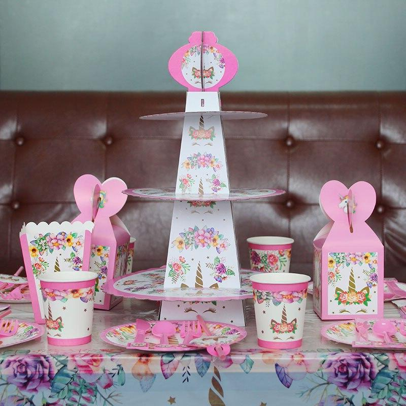 MEIDDING 24Pcs <font><b>Kit</b></font> Cake <font><b>Toppers</b></font> +<font><b>Cupcake</b></font> Happy Party Party Supplies