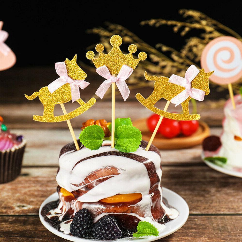 BESTONZON Princess Themed Cupcake Birthday