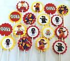 30 cupcake toppers birthday party favors baby