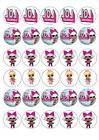 30 lol dolls cupcake toppers 1 5